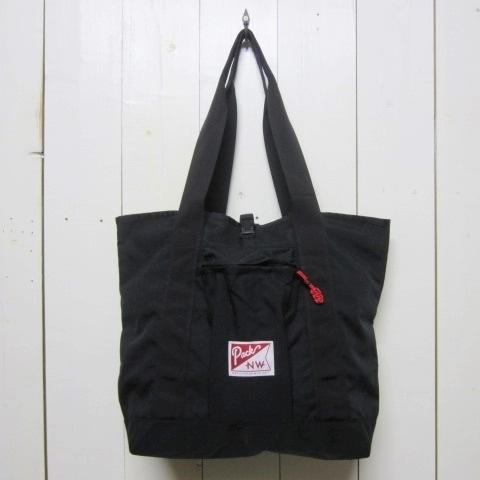 pack northwest パックノースウェスト [large hobo tote][black/red]