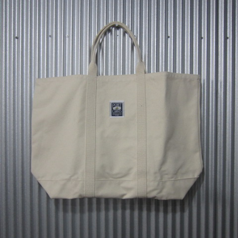 port canvas [windjammer tote][solid][natural] ポートキャンバス ウィンドジャマー トート ビッグ トートバッグ ナチュラル