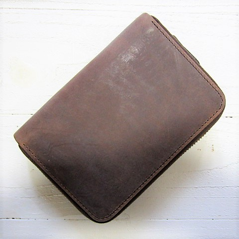 settler セトラー [zip round compact wallet][ow2534][brown]