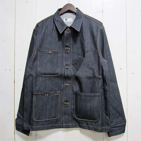 tellason テラソン [coverall jacket][denim][12.5oz]
