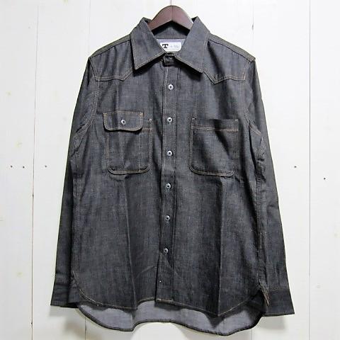【訳あり】[サイズ限定] tellason テラソン [topper denim shirt][denim]