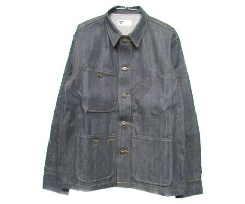 tellason [coverall jacket][denim][12.5oz] テラソン カバーオール ジャケット デニム