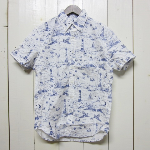 empire & sons エンパイア アンド サンズ [printed shirts][ss][white]