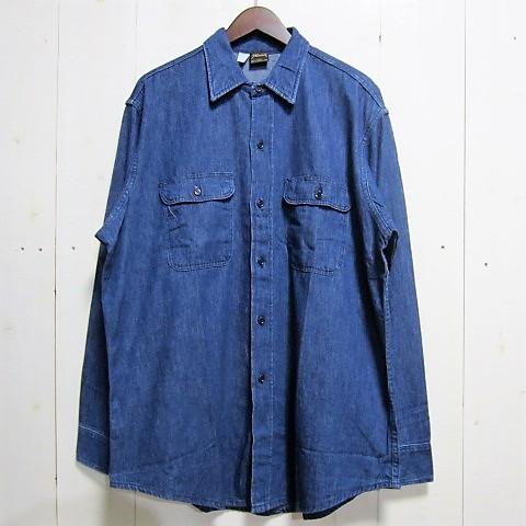 [アメリカ製][dead stock デッドストック] prentiss プレンティス [denim shirts][ls]