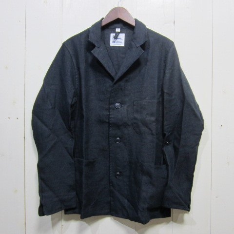 yarmo [drivers jacket][linen][navy] ヤーモ ドライバーズジャケット リネン ネイビー