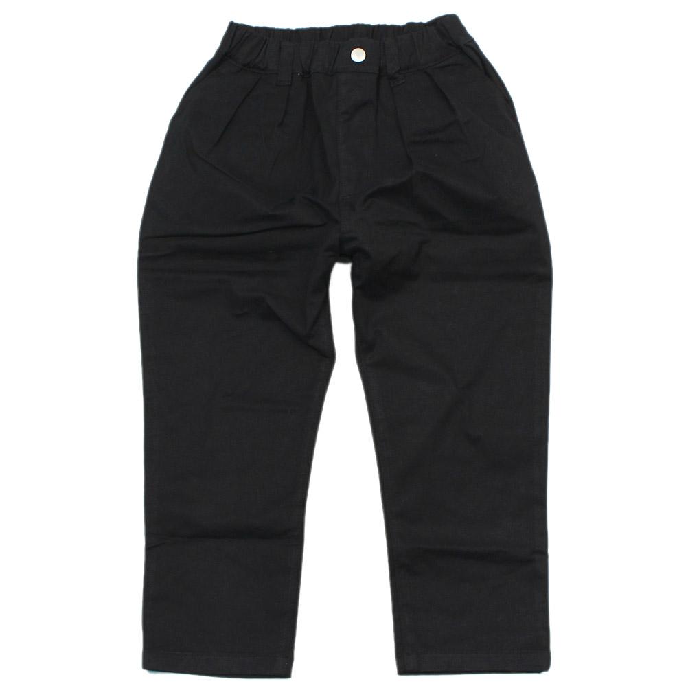 ZERO 売り出し standard 子供服 ゼロスタンダード こども服 チノタック ブラック 人気ショップが最安値挑戦 ロングパンツ BK
