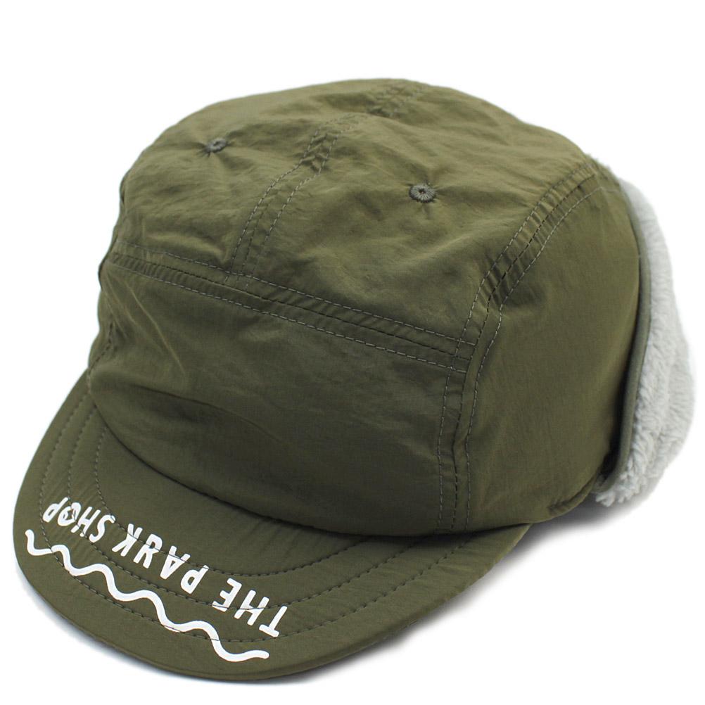 ボアキャップ 帽子 キャップ THE PARK SHOP 子供服 数量限定 新品未使用 ザ CAP パークショップ ジュニア SNOWBOY こども服 olive