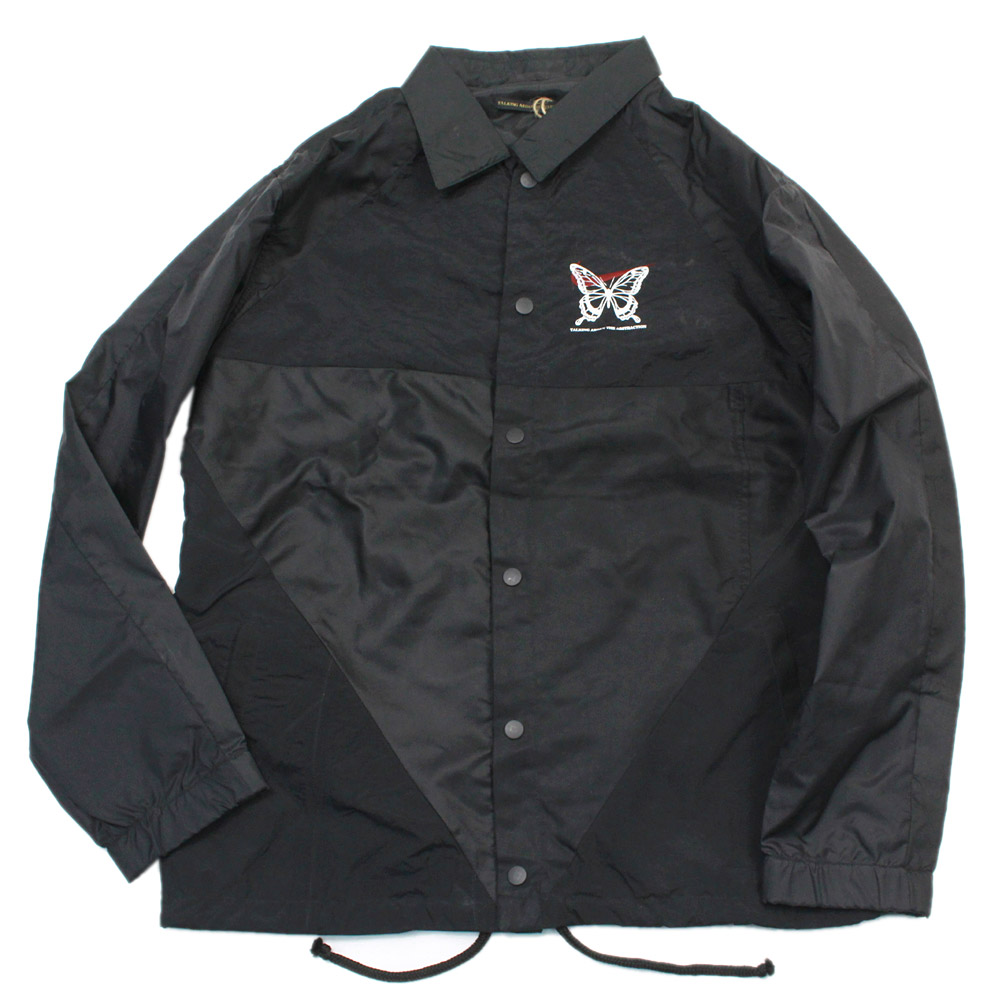 MENS メンズ トーキングアバウト TALKING ABOUT THE ABSTRACTION Re-make Nylon Coach Jacketa174a