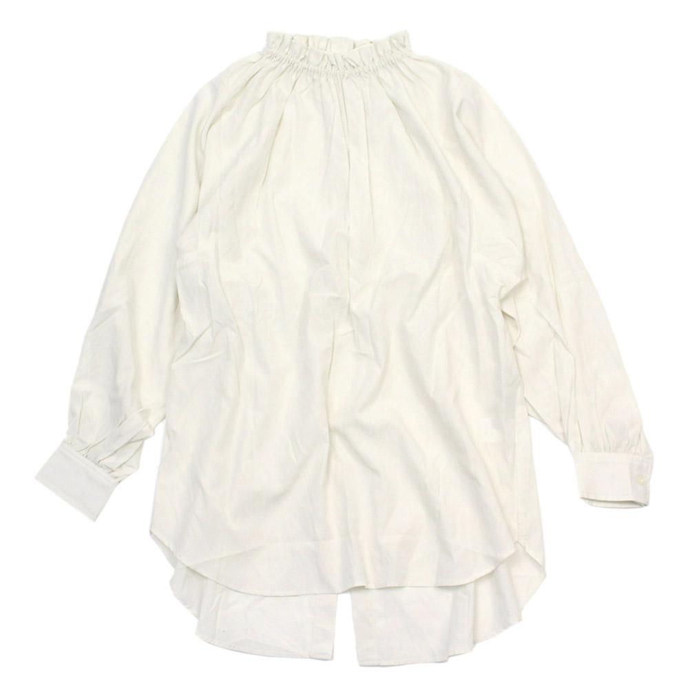 シャツ 別倉庫からの配送 フリルシャツ フリル アーチ 半額 ライン ARCHLINE 子供服 2WAY ジュニア アーチアンドライン オフホワイト 12 大人