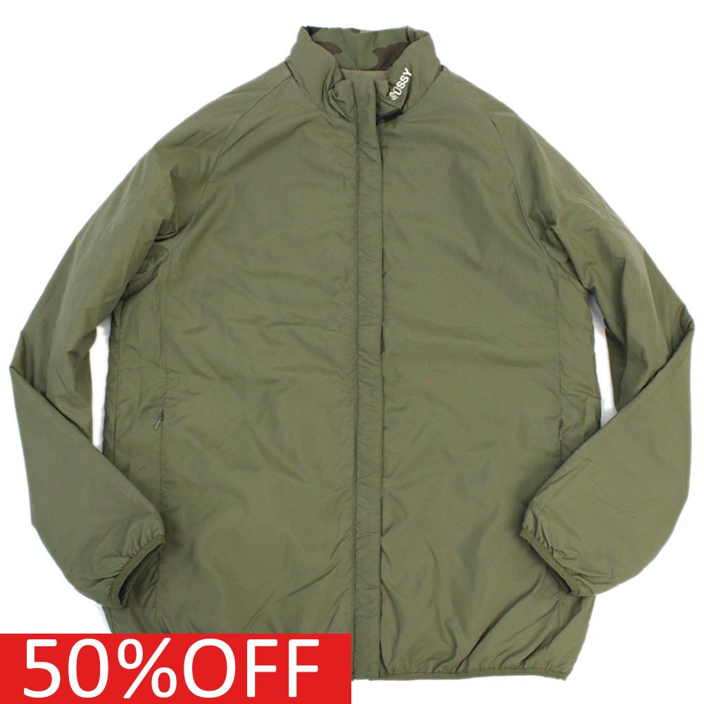 【ステューシー/メンズ/STUSSY/MENS】 セール 【30%OFF】 Rversible Mock Jacket オリーブa118a173a