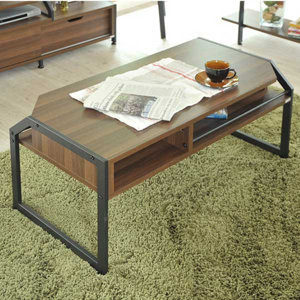 リ・コンテ Re・conte リタ Rita ブラック BK センターテーブル Center Table RT-007-BK【送料無料】【代引不可】