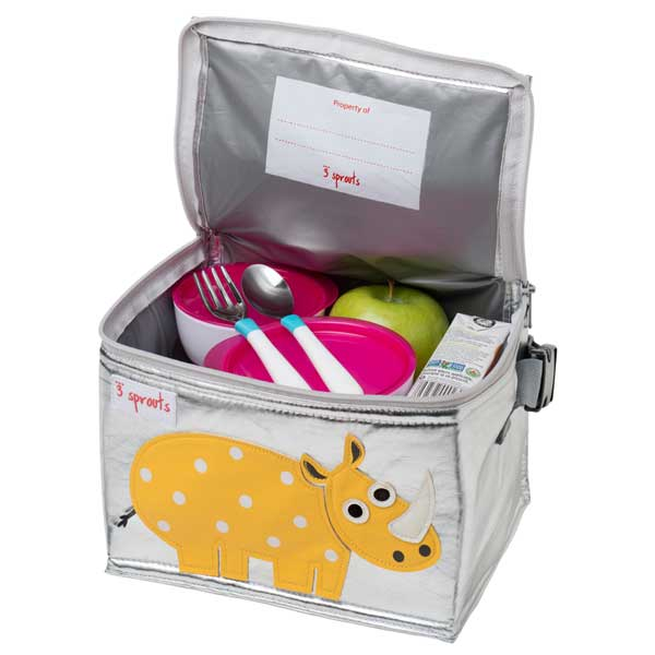 Three sprouts sprouts 3 lunch box Lunchbox Rhino Rhino!