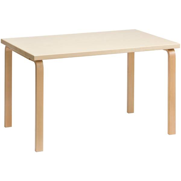 【大型家具】Artek アルテック 家具 81Bテーブル バーチ 155000*納期は受注後お知らせ致します。