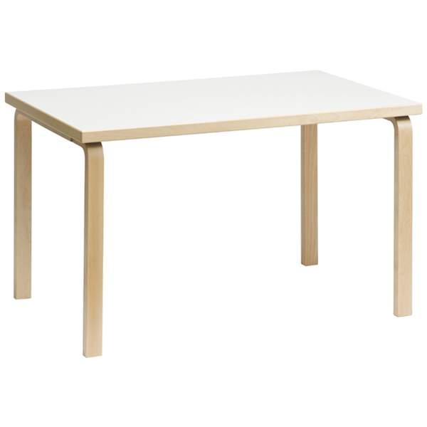 北欧モダンを代表する、フィンランドの「Artek(アルテック)」 【大型家具】Artek アルテック 家具 81Bテーブル ホワイト ラミネート 155001*納期は受注後お知らせ致します。