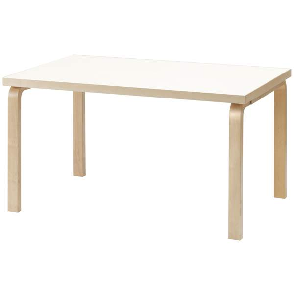 【大型家具】Artek アルテック 家具 82Bテーブル ホワイト ラミネート 162111*納期は受注後お知らせ致します。