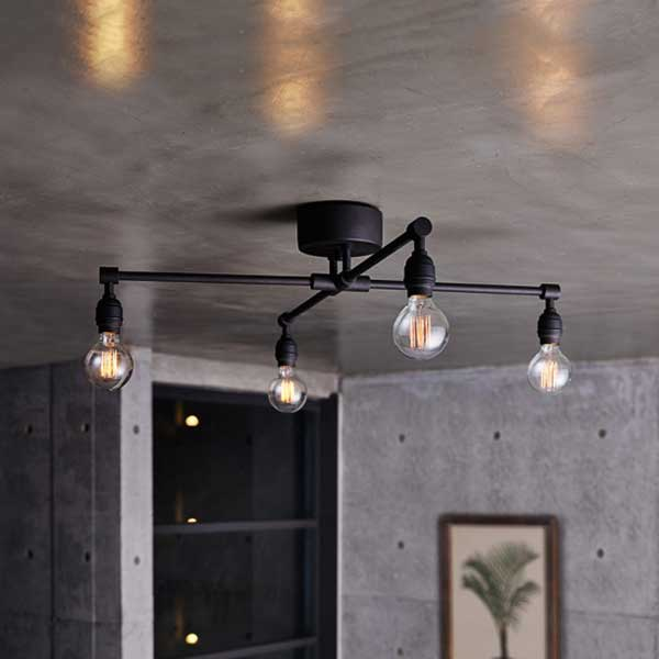 ART WORK STUDIO アートワークスタジオ Lation X-ceiling lamp レイトンエックスシーリングランプ 電球なし AW-0576Z (カラー)GD・ABK