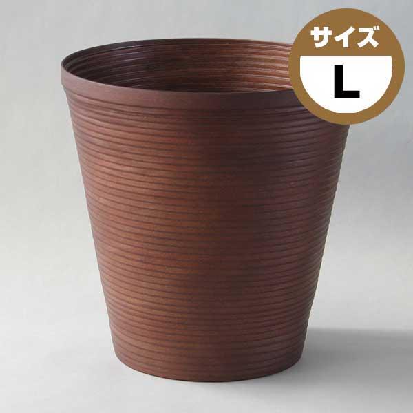 ブナコ BUNACO ダストボックス COIL コイル L ブラウン IB-D913 【ラッピング不可】【送料無料】