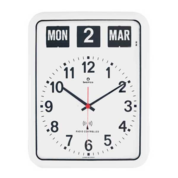 ディテール DETAIL トゥエンコ ラジオ コントロール カレンダー クロック Twemco Radio Control Calendar Clock RC-12A 492WH (電波時計)