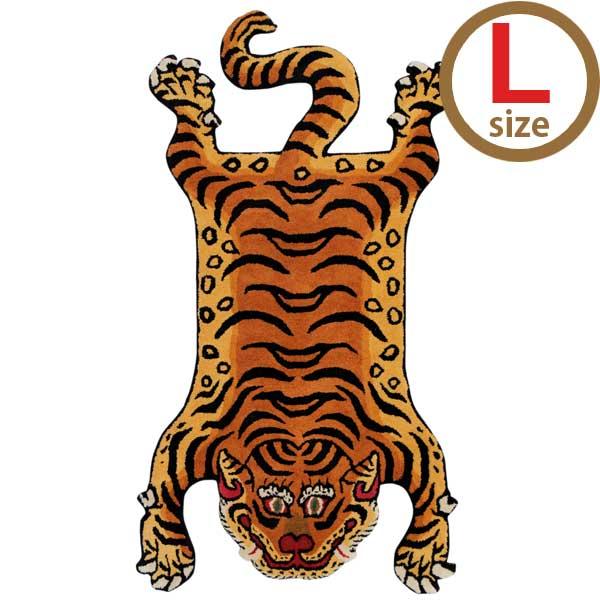ディテール DETAIL チベタンタイガーラグ Tibetan Tiger Rug  DTTR-02 Lサイズ  【送料無料】【代引不可】【ラッピング不可】
