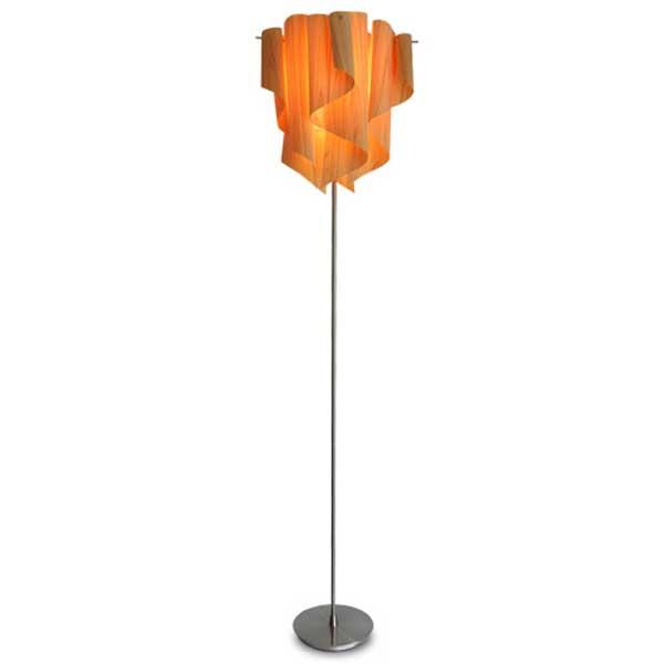 ディクラッセ DI CLASSE フロアランプ Floor Lamp アウロ ウッド Auro Wood LF4200WO【送料無料】