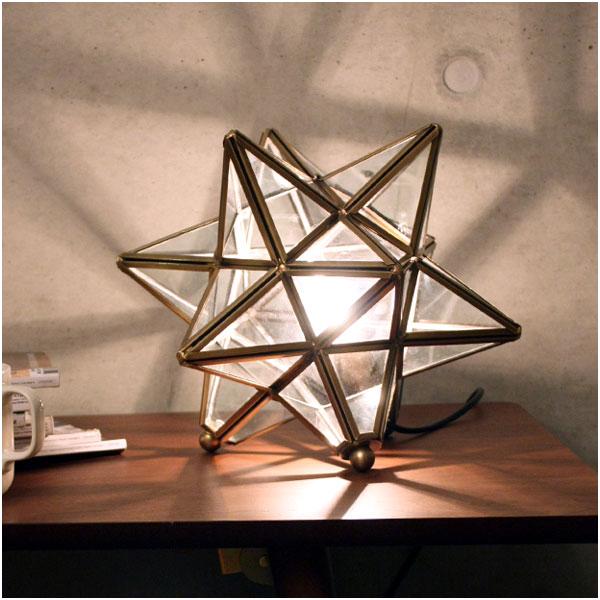 ディクラッセ DI CLASSE テーブルランプ Table Lamp エトワール Etoile クリア Clear LT3675CL【送料無料】