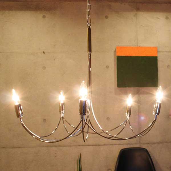 ディクラッセ DI CLASSE ペンダントランプ Pendant Lamp アルコ グランデ Arco Grande LP2000CH【送料無料】