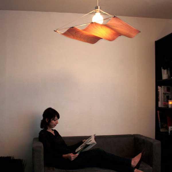 ディクラッセ DI CLASSE ペンダントランプ Pendant Lamp オンダ ウッド Onda Wood LP2758WO【送料無料】