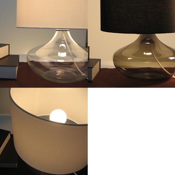 di classe table lamp diclassetablelampacquablacksmokelt3100bk mozeypictures Images