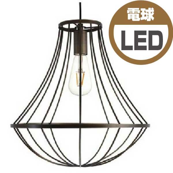 ディクラッセ DI CLASSE ペンダントランプ Pendant Lamp ジェンマ Gemma LED球 アンティークブラウン LP3089BR 【送料無料】