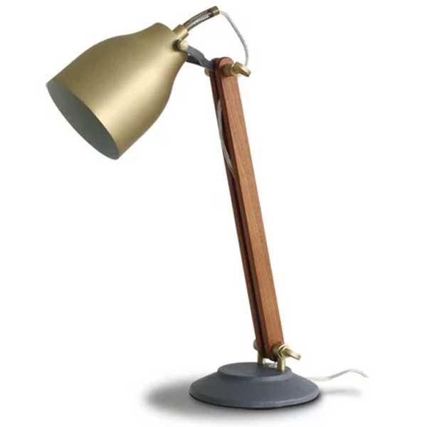 ディクラッセ DI CLASSE デスクランプ Desk Lamp ファルン Falun ゴールド LT3687GD【送料無料】