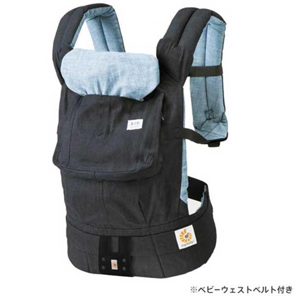 【あす楽】エルゴベビー Ergobaby ベビーキャリア Baby carrier デザイナーコレクション Designer Collection Lee ジェルトデニム インディゴ(日本限定) CREGBCALEE【送料無料】【asrk_ninki_item】