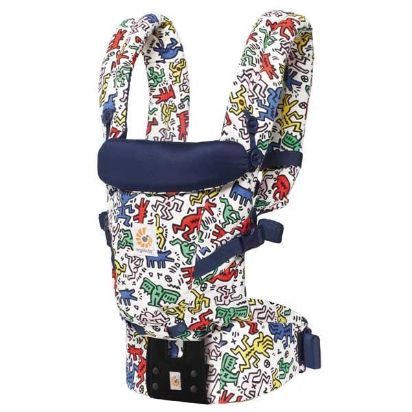 エルゴベビー Ergobaby ベビーキャリア Baby carrier アダプト ADAPT キースヘリング Keith Haring POP CREGBCAPEAKHWHT 【送料無料】