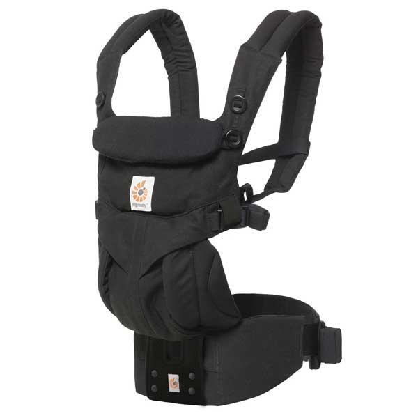 エルゴベビー Ergobaby ベビーキャリア Baby carrier オムニ360 OMNI 360 ブラック CREGBCS360BLK 【送料無料】