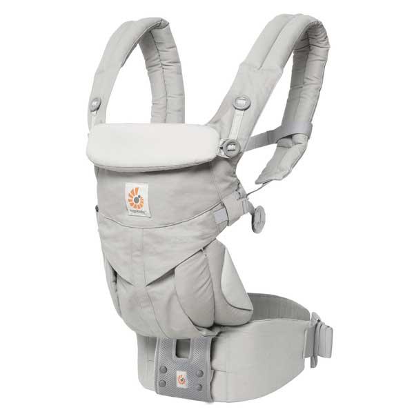 エルゴベビー Ergobaby ベビーキャリア Baby carrier オムニ360 OMNI 360 パールグレー CREGBCS360GRY 【送料無料】