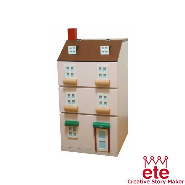エテ ete 子供収納家具 タウンチェスト1番地<ピンク>【送料無料】【代引不可】※お届けまでお日にちがかかる場合がございます。