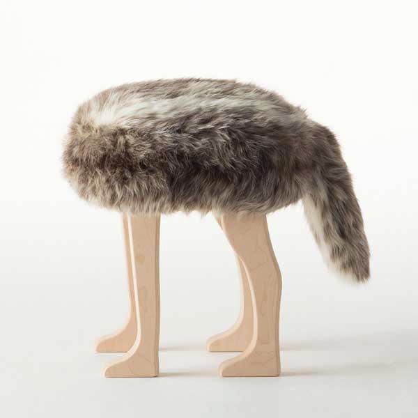 アッシュコセンプト h concept 匠 Takumi アニマルスツール Animal Stool コヨーテ ブラウン L Brown L ※受注生産品となります。