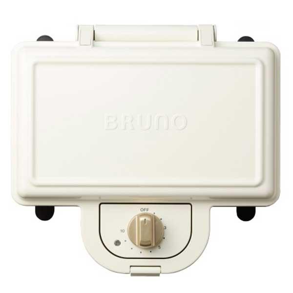 イデア idea ブルーノ Bruno ホットサンドメーカー ダブル ホワイト BOE044-WH