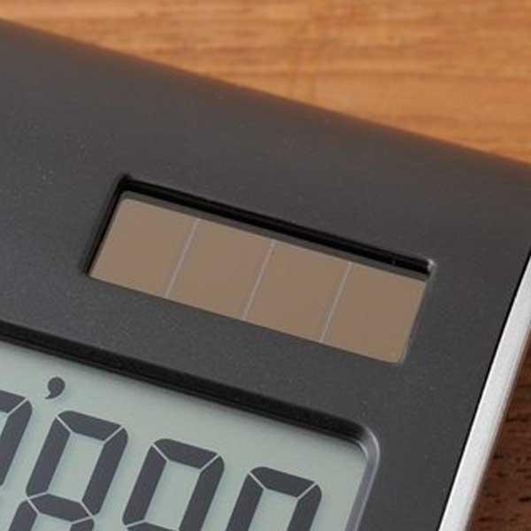 イデア idea イデアレーベルバイブルーノ Idea Label by BRUNO 10Dカリキュレーター ブラック LDC017-BK