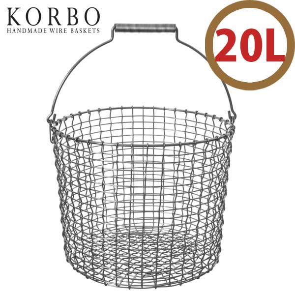 イデアポート IDEA PORT コルボ KORBO ハンドメイドワイヤーバスケット バケット BUCKET バケット20