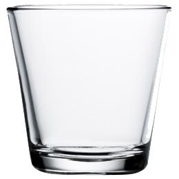 210 ml of イッタラ iittala カルティオ Kartio tumblers are clear