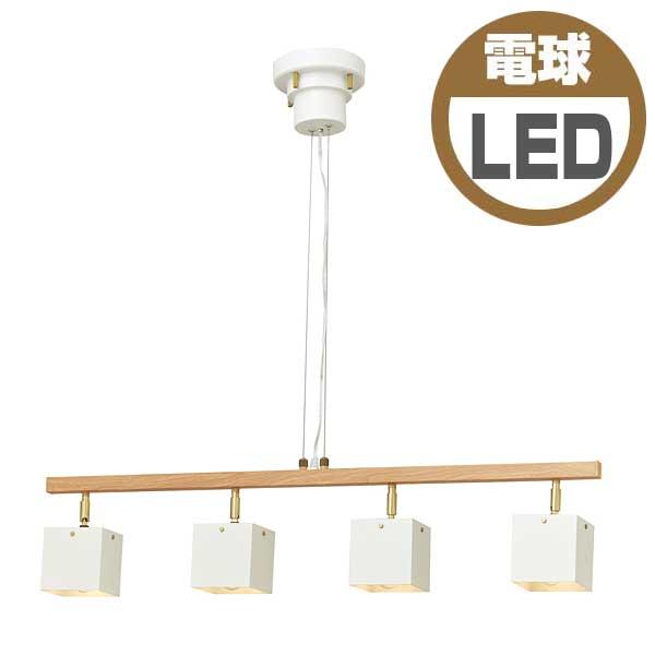 インターフォルムINTERFORMトレンセ Tollense小形LED電球(電球色)×4付LT-3579