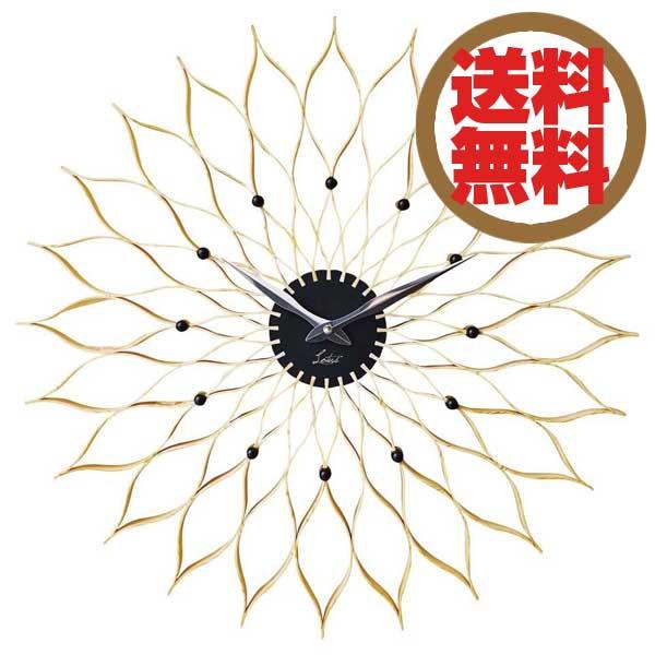 インターフォルム INTERFORM クロック CLOCK ルファール Leffard ナチュラル(木調塗装) CL-9903 NA 【送料無料】