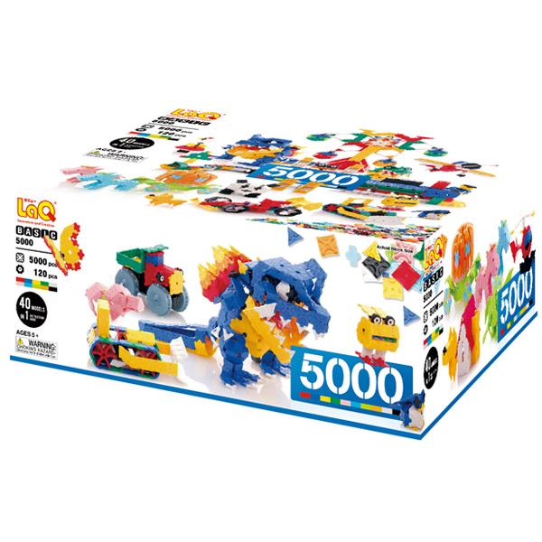 LaQ ラキュー Basic 5000 ベーシック 5000 5000pcs+120pcs【送料無料】