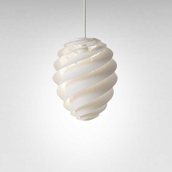 レクリント LE KLINT ペンダントランプ Pendant Lamp スワール 2 SWIRL 2 Sサイズ ホワイト KP1312SWH 【送料無料】