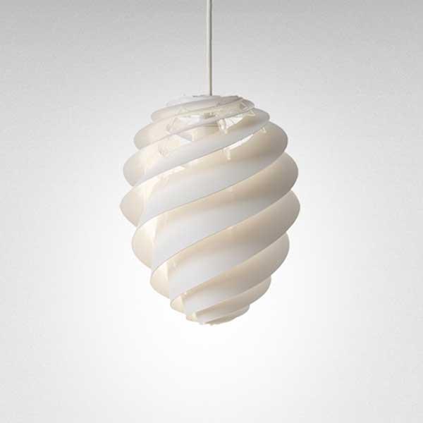 レクリント LE KLINT ペンダントランプ Pendant Lamp スワール 2 SWIRL 2 Mサイズ ホワイト KP1312MWH 【送料無料】