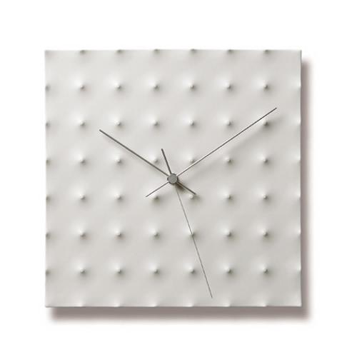 レムノス Lemnos 白磁の壁掛け時計 Aggressive / KC03-25【送料無料】*受注後に納期をお知らせ致します。