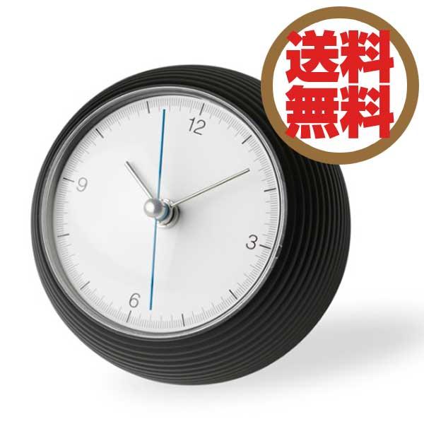 レムノス Lemnos 置時計 アースクロック earth clock ブラック TIL16-10 BK *受注後に納期をお知らせ致します。 【送料無料】