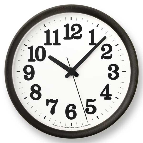 レムノス Lemnos クロック シー Clock C ブラック YK15-02 BK *受注後に納期をお知らせ致します。【送料無料】