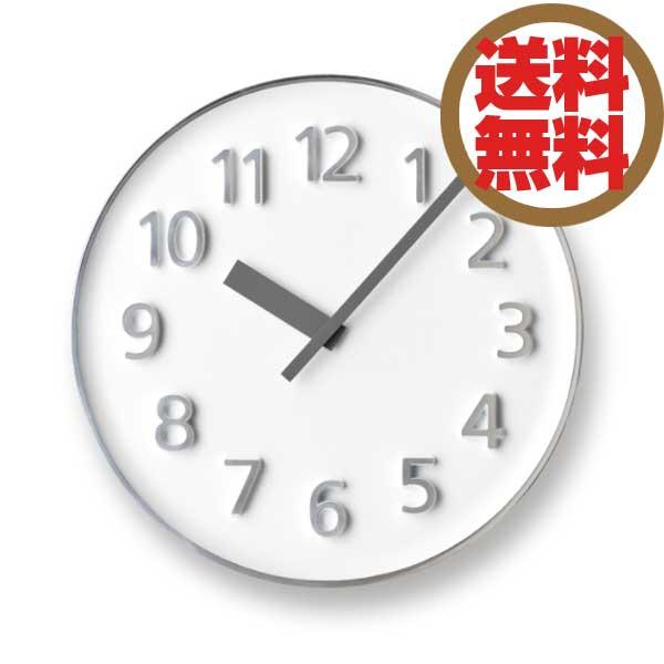 レムノス Lemnos 掛時計 ファウンダークロック Founder Clock ホワイト KK15-08 WH *受注後に納期をお知らせ致します。