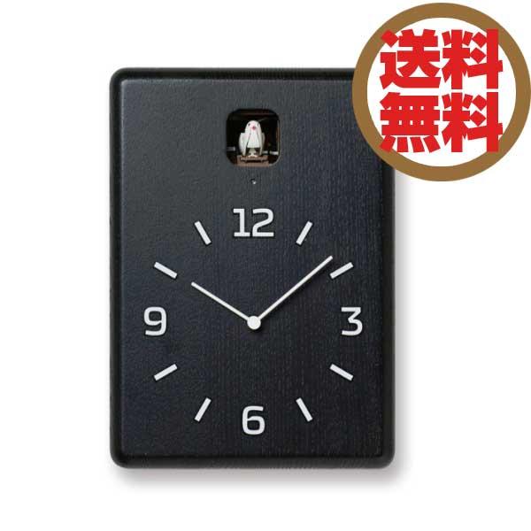 レムノス Lemnos 掛時計 鳩時計 クク CUCU ブラック LC10-16 BK *受注後に納期をお知らせ致します。